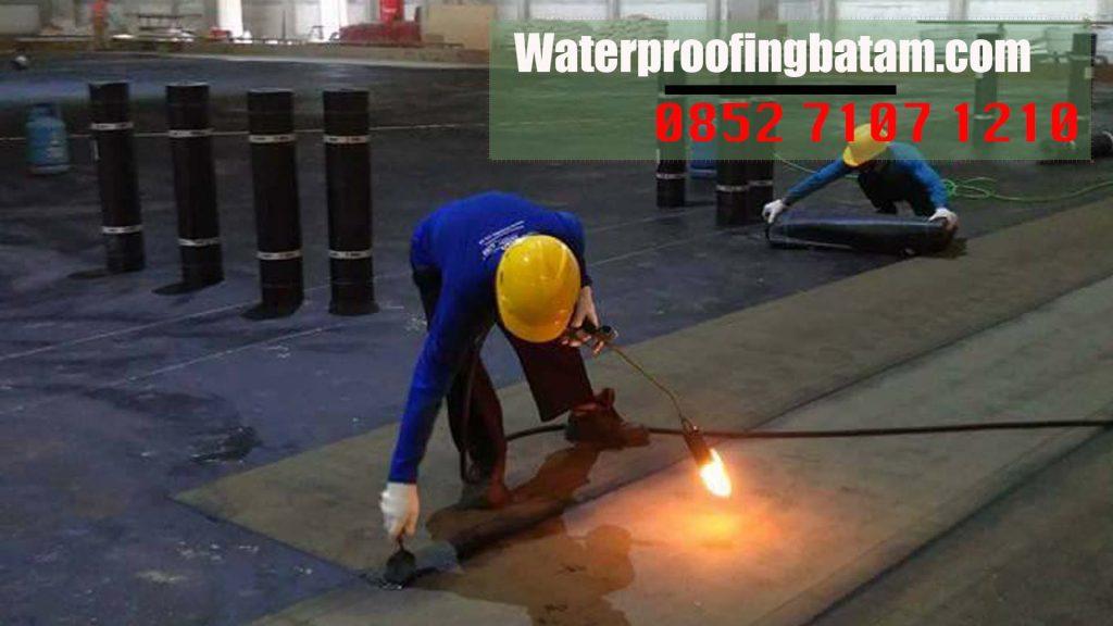 Pasang Waterproofing Membrane Bakar Di  Melayu Kota Piring ,Kota Tanjungpinang - Telepon Kami : 0852 7107 1210