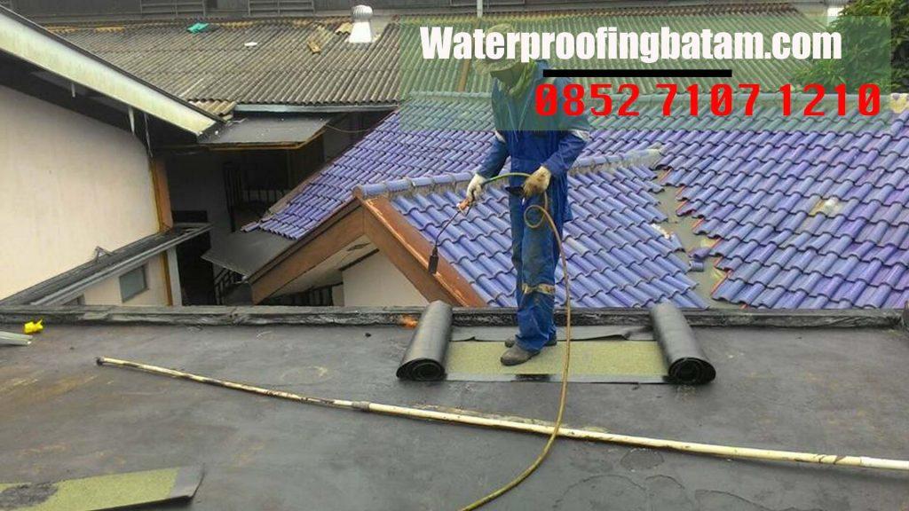 Pasang Waterproofing Membrane Bakar Di  tanjung Riau ,kota Batam - hubungi kami : 08 52 71 07 12 10