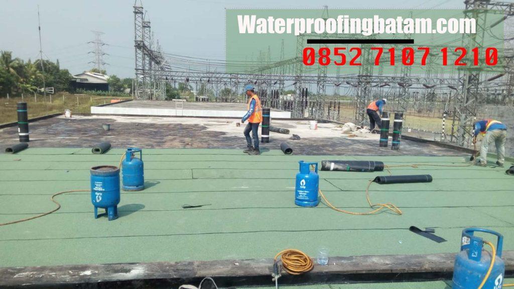 Pasang Waterproofing Membrane Bakar Di  tanjung Piayu  ,kota Batam - telepon : 0852 7107 1210