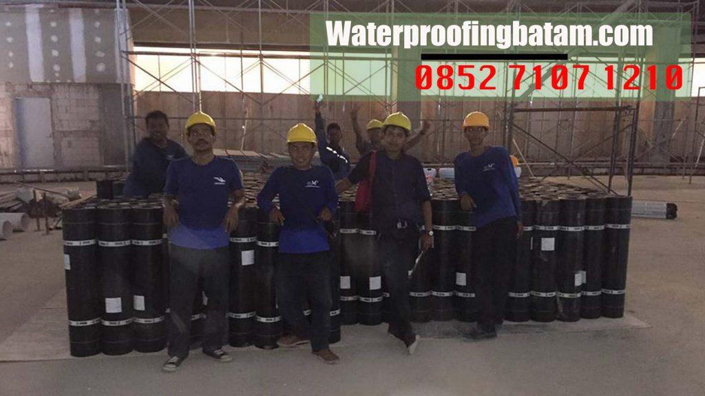 Pasang Waterproofing Membrane Bakar Di  sungai Binti ,kota Batam - telepon : 08 52 71 07 12 10
