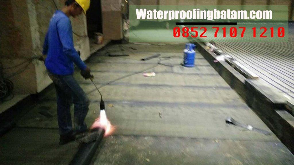 Pasang Waterproofing Membrane Bakar Di  sijantung ,kota Batam - telepon : 085271071210